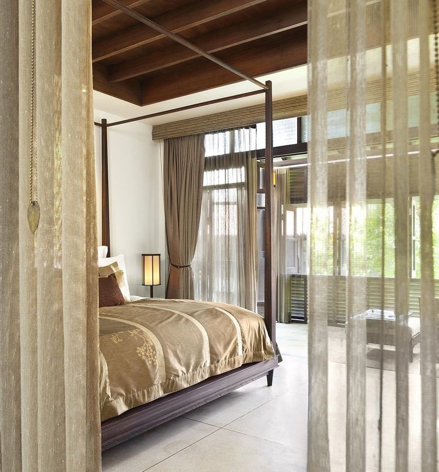 property Bedroom home curtain door tan