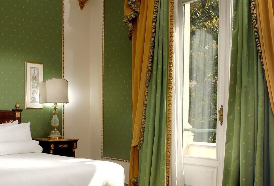 green property curtain house Bedroom window treatment white home textile