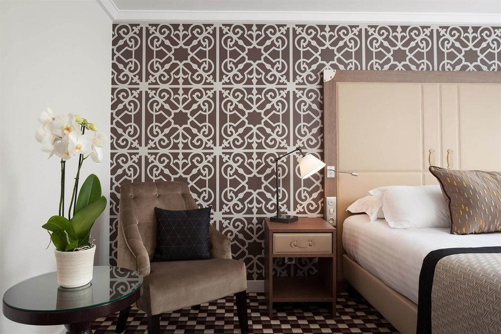 living room curtain wallpaper textile Bedroom lamp