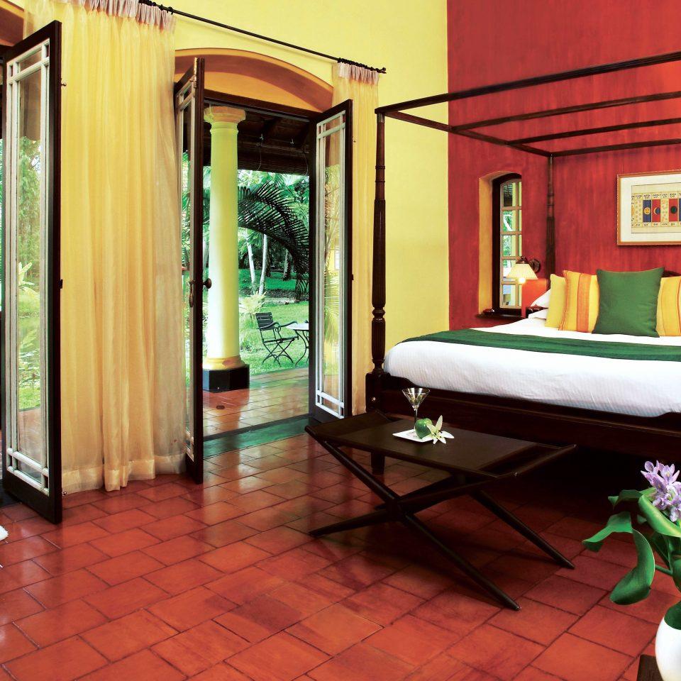 Bedroom Deck Island Patio Romantic Terrace property Lobby condominium home Resort mansion living room Villa hacienda Suite