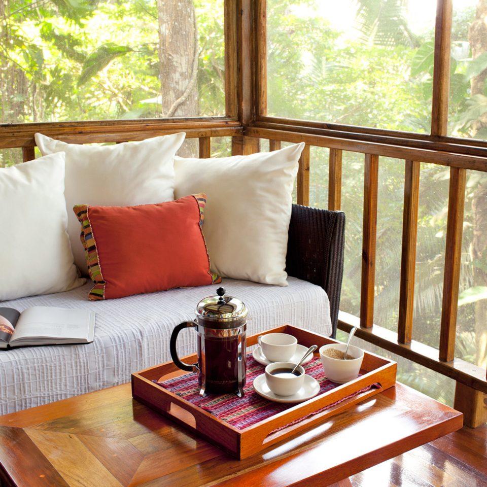 Bedroom Deck Lodge Rustic sofa property cottage home wooden living room Villa Suite Resort