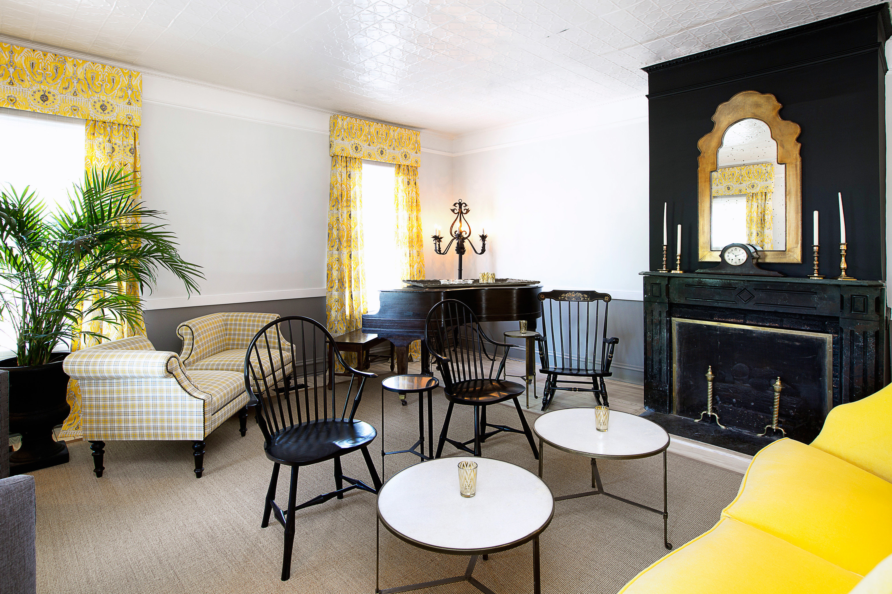 chair property living room yellow home Dining Suite Villa condominium cottage Bedroom