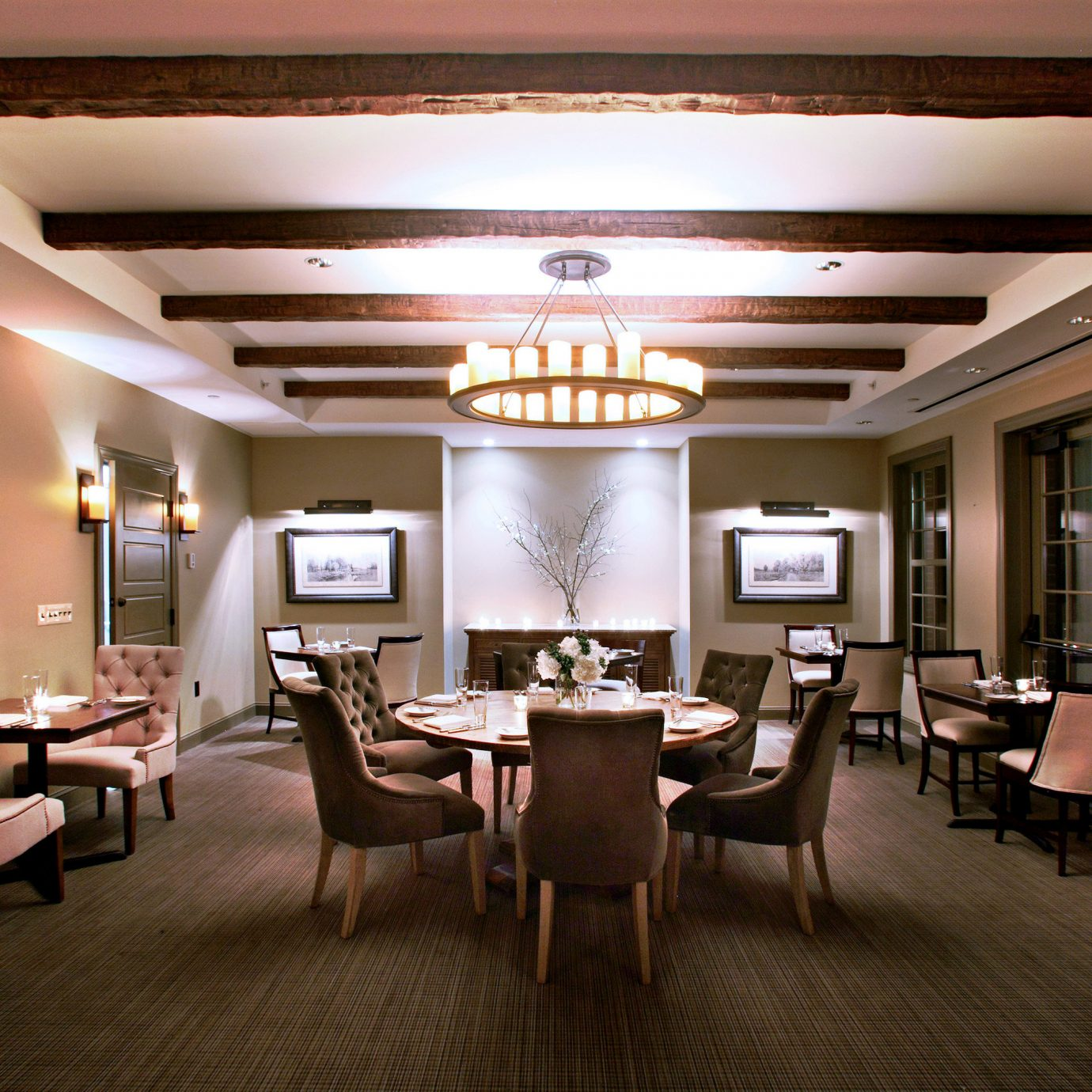 Drink Eat Modern Lobby conference hall restaurant function hall lighting Bedroom