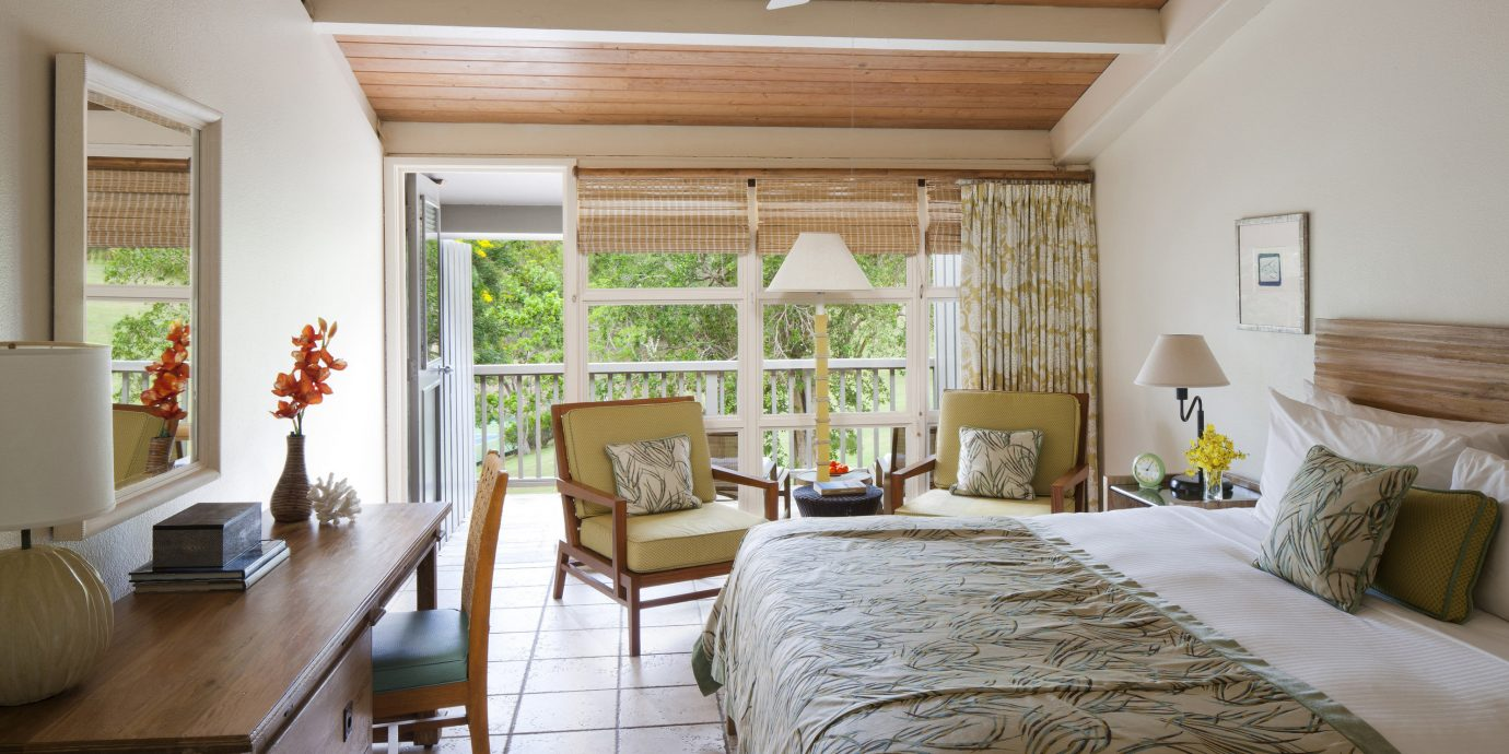 Bedroom Eco Family Luxury Resort Romantic Scenic views Suite Tropical property chair home cottage living room farmhouse hardwood Villa