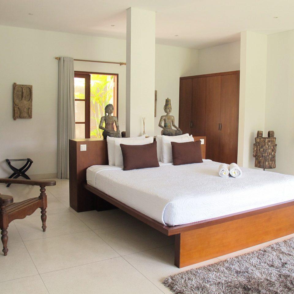 Bedroom Eco Island property Suite hardwood living room Villa home cottage bed frame