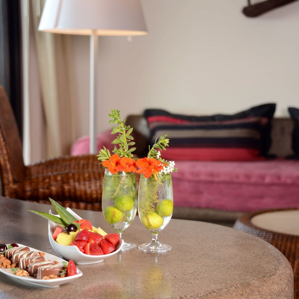 Bedroom Eco Modern Suite plate restaurant brunch dining table