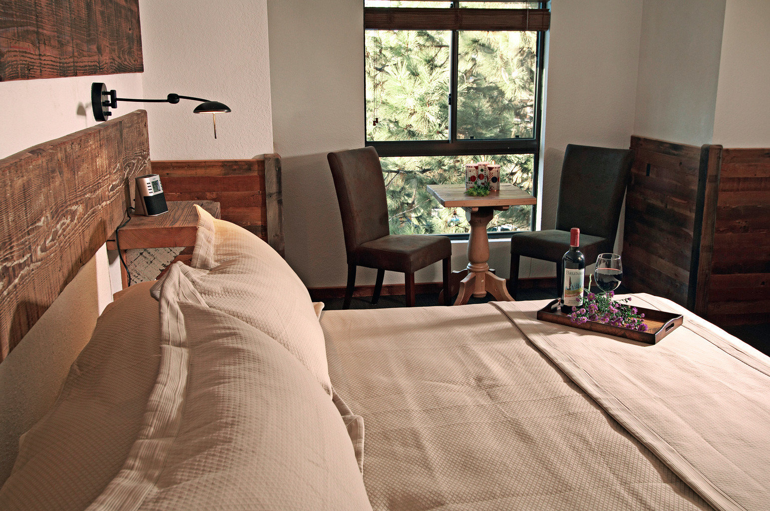 Bedroom Eco Rustic property home house living room cottage Suite bed sheet
