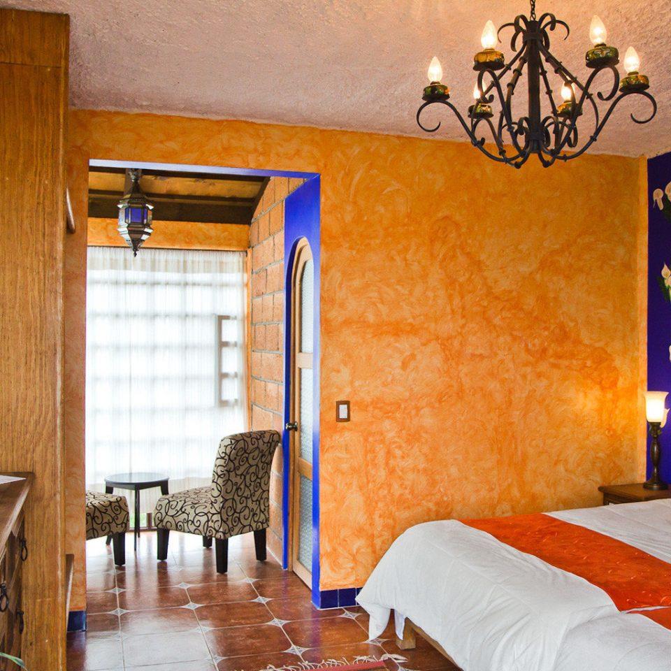 Bedroom Eco property house cottage Suite home living room Villa orange