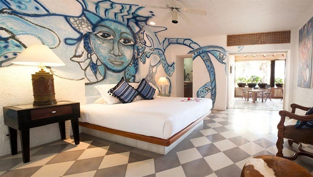Bedroom Elegant Hip Luxury Modern Suite property mural art living room modern art Lobby tourist attraction