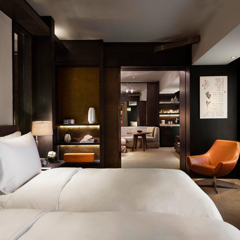 Bedroom Elegant Hip Luxury Modern Suite sofa property living room home condominium