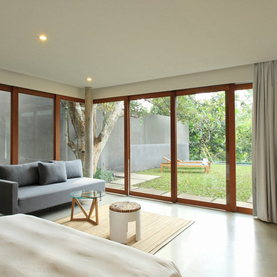 Bedroom Elegant Hip Luxury Modern Suite property living room home hardwood condominium Villa cottage