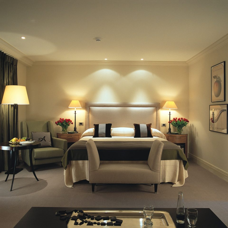 Bedroom Elegant Hip Luxury Modern Suite living room property home lighting condominium