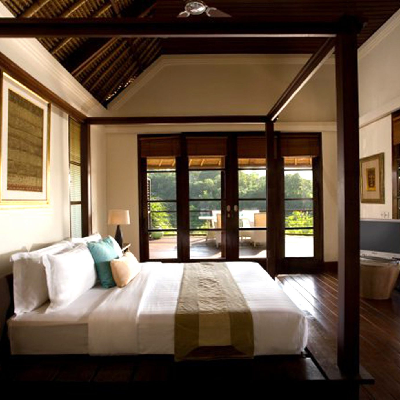 Bedroom Elegant Hip Luxury Modern Suite property condominium living room Resort home mansion Villa