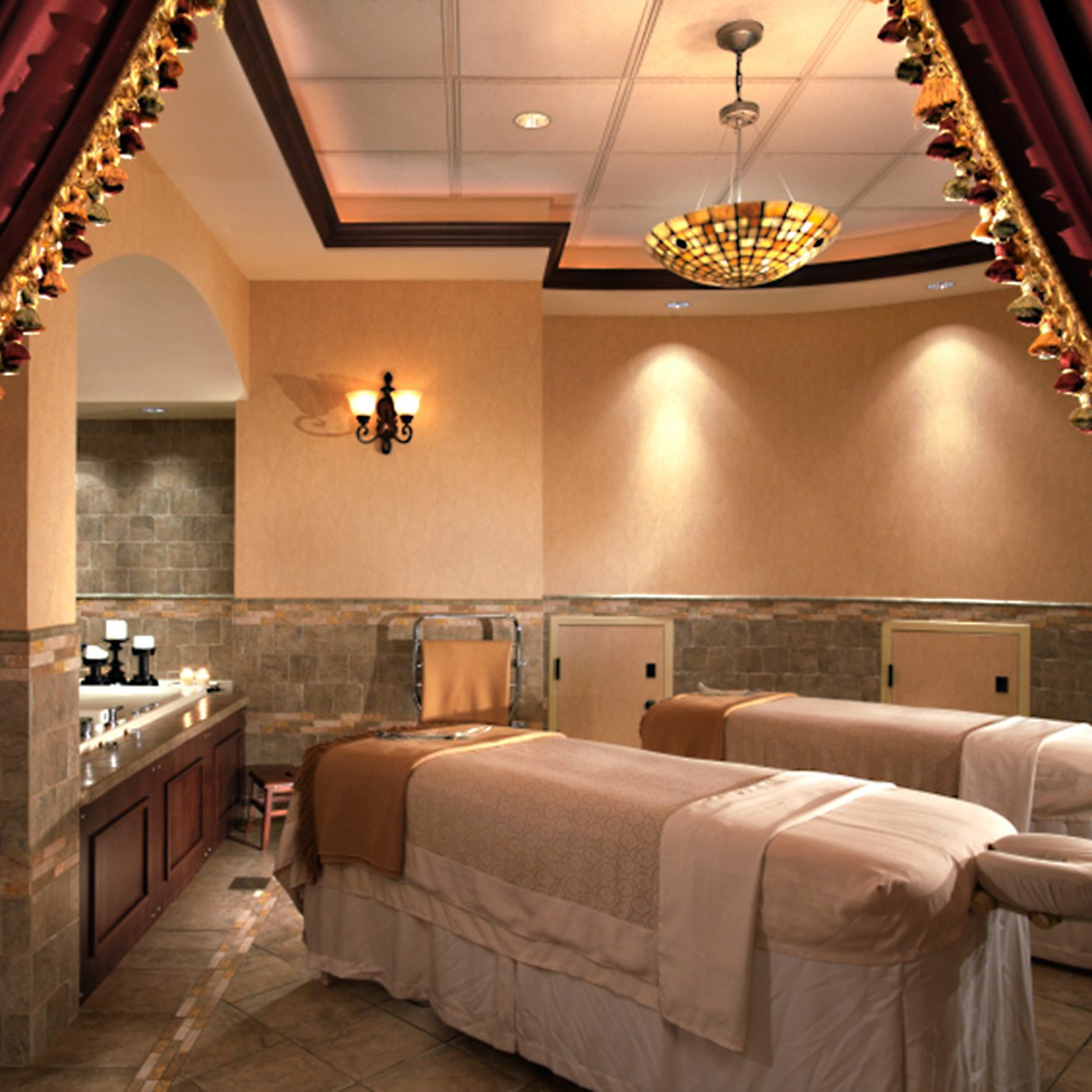 Elegant Luxury Spa Suite Lobby living room mansion Bedroom