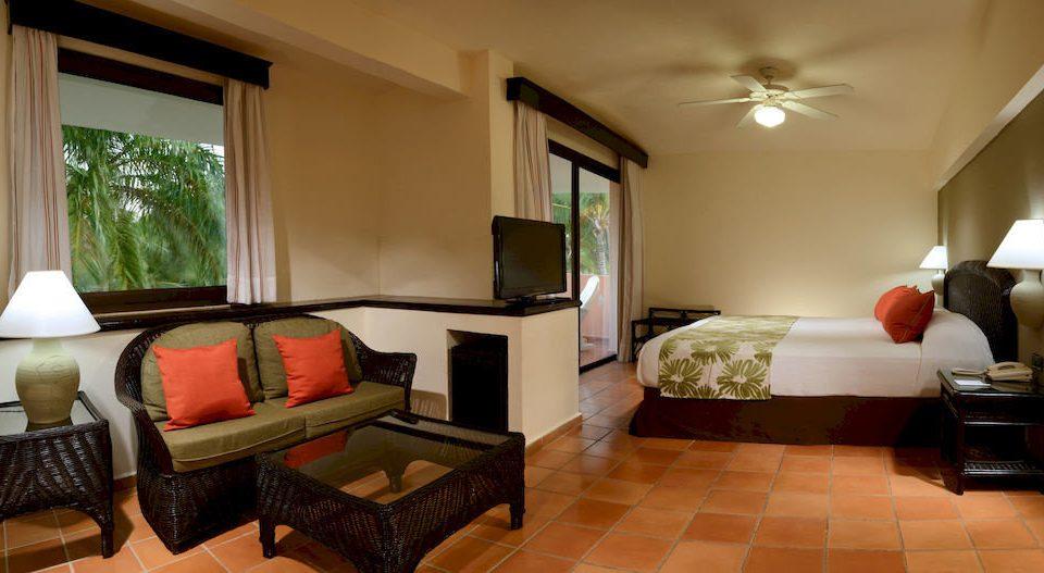 Bedroom Elegant Luxury Suite property living room home condominium cottage Villa Modern