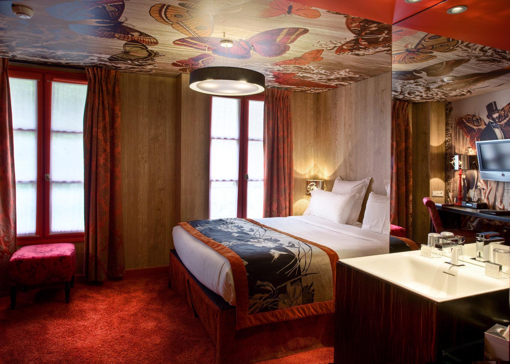Bedroom Elegant Luxury Modern Suite cottage Resort restaurant