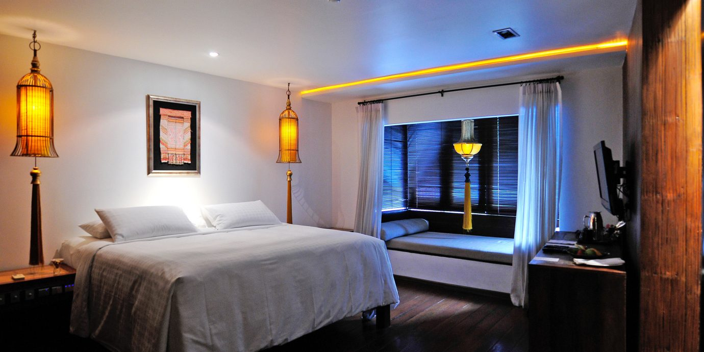 Bedroom Elegant Luxury Modern Suite property scene cottage Villa