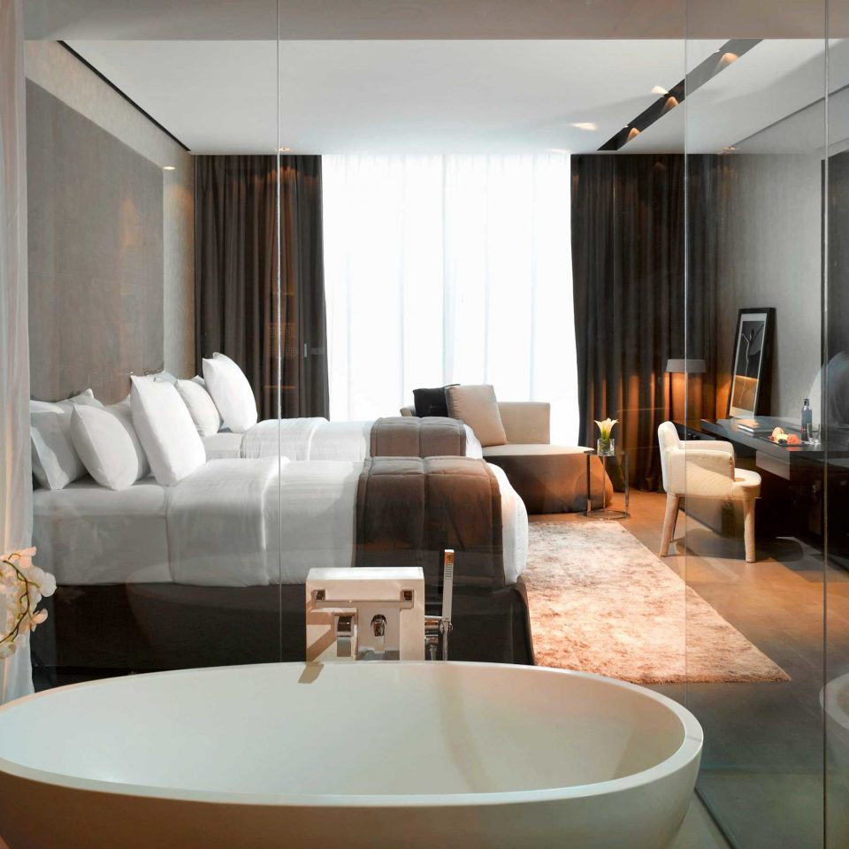 Bedroom Elegant Luxury Modern Suite property living room condominium Villa tub bathtub