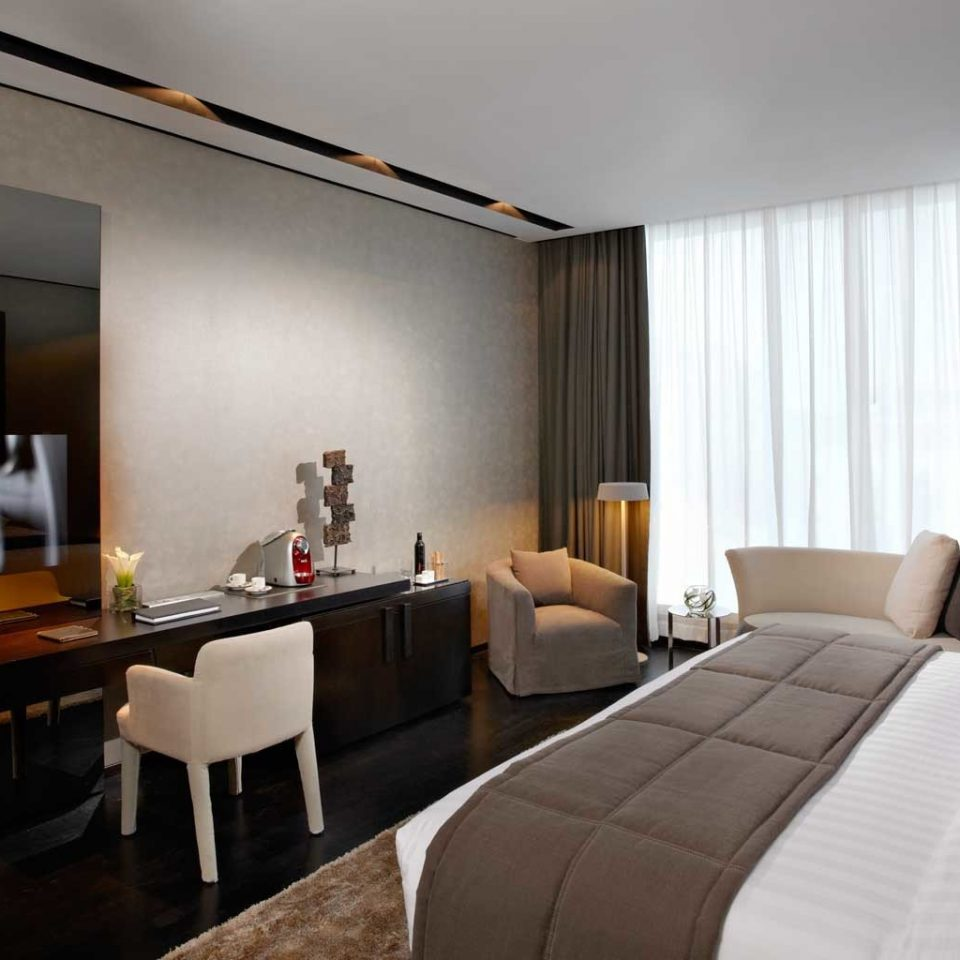 Bedroom Elegant Luxury Modern Suite sofa property white living room condominium