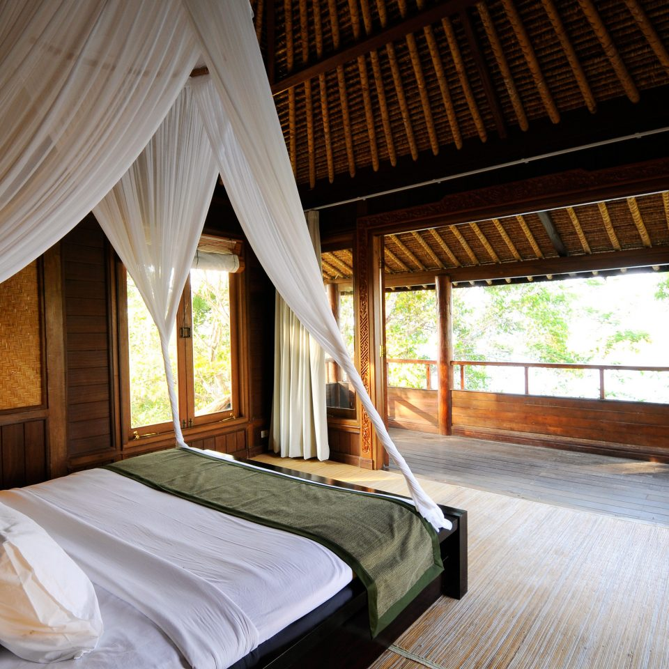 Bedroom Elegant Luxury Suite property Resort cottage Villa