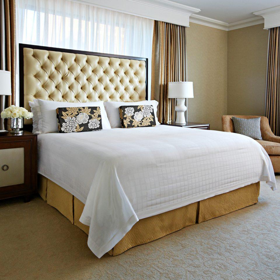 Bedroom Elegant Luxury Suite bed sheet bed frame cottage containing