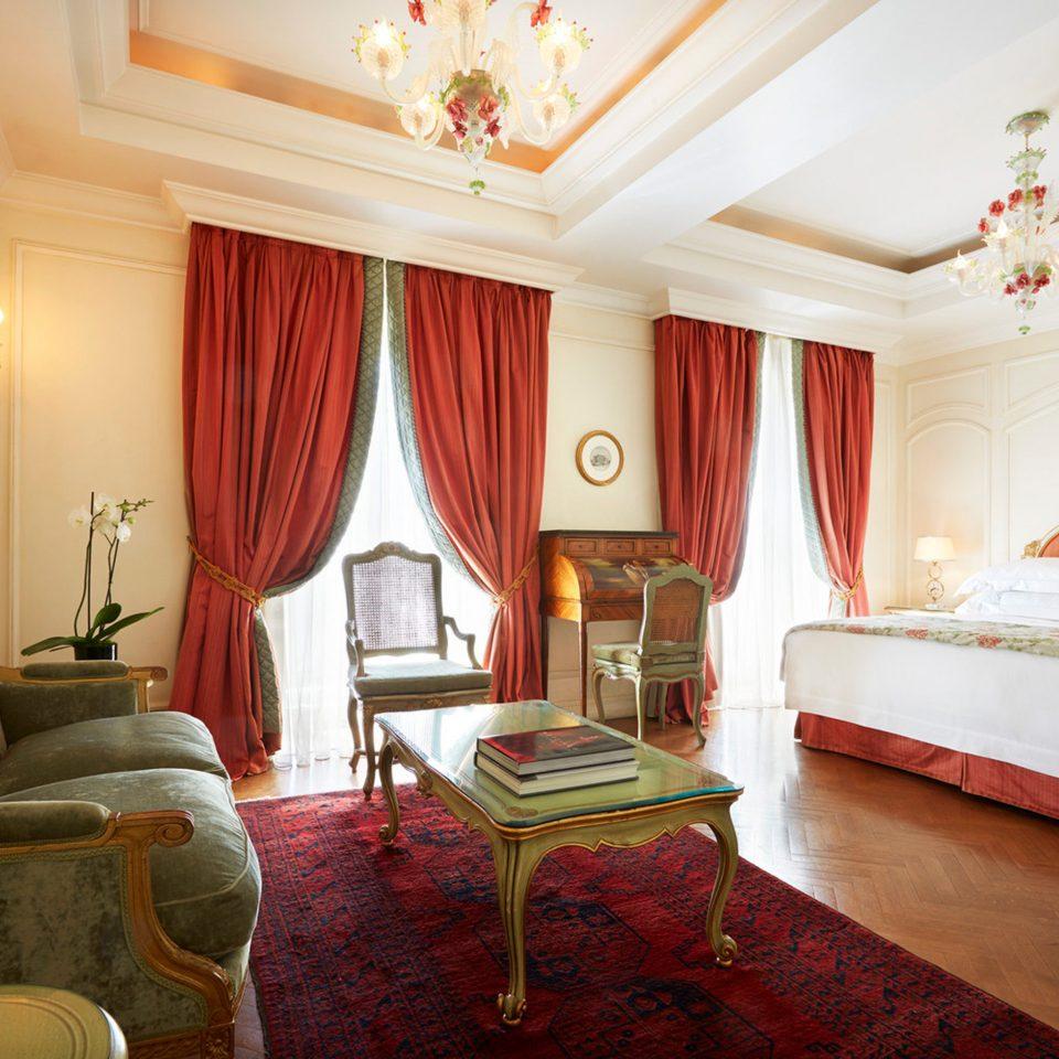 Bedroom Elegant Luxury Suite property cottage living room
