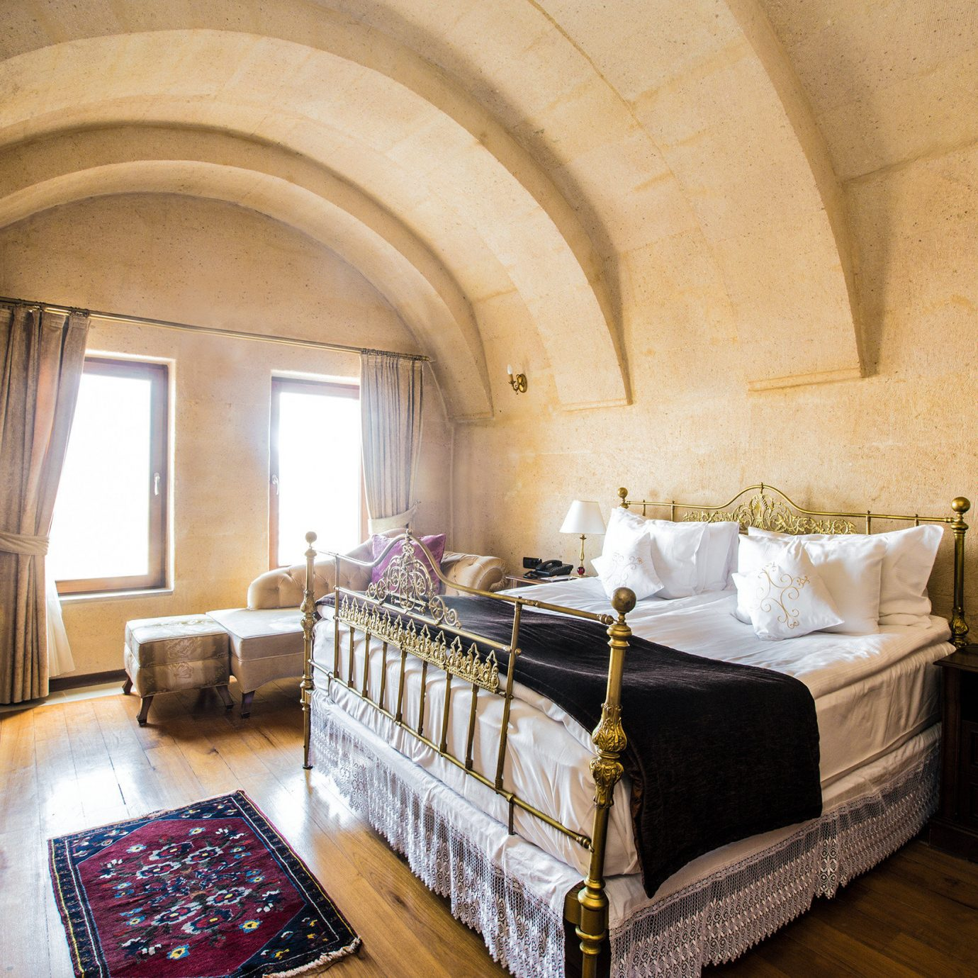 Bedroom Elegant Modern Resort property building Suite mansion cottage living room Villa