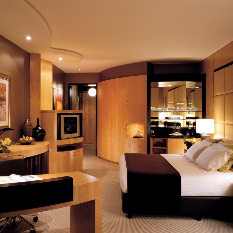 Bedroom Elegant Modern property living room home Suite condominium lighting flat
