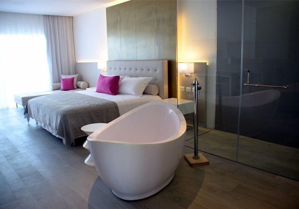 Bedroom Elegant Modern Suite property flooring