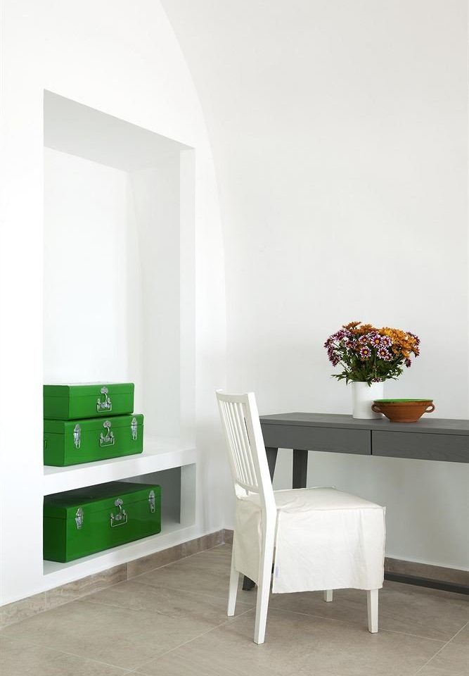 white green living room flooring shelf empty Bedroom