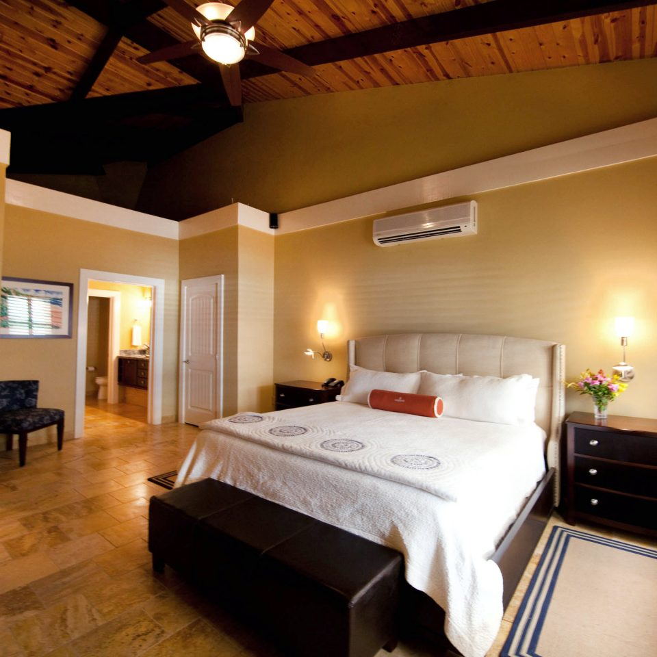 Bedroom Family Honeymoon Island Romance Romantic Suite Tropical Waterfront property home hardwood cottage Villa living room mansion