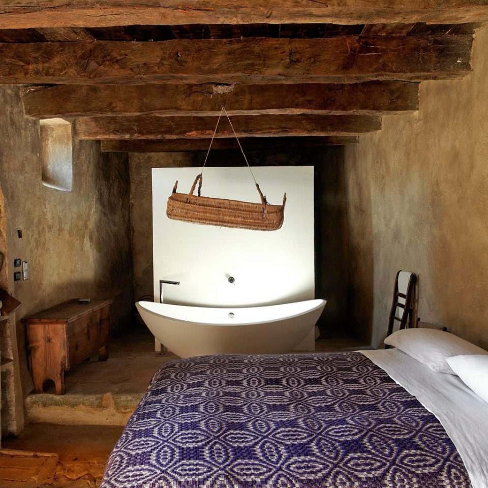 Bedroom Fireplace Honeymoon Romance Romantic Rustic property building cottage farmhouse old mansion stone