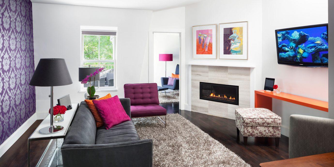 Fireplace Inn Modern property living room home Bedroom cottage Suite flat