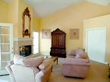 sofa property living room cottage Fireplace Villa Bedroom
