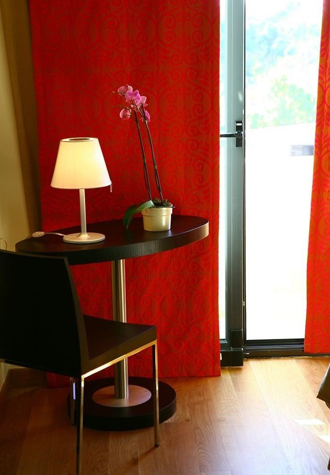 red lamp lighting flooring Bedroom