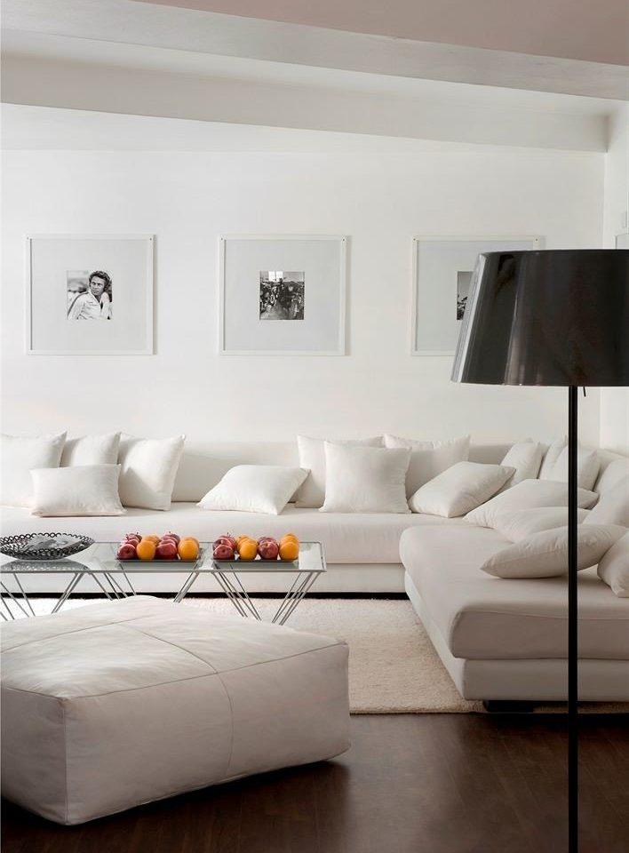 white living room pillow flooring Bedroom