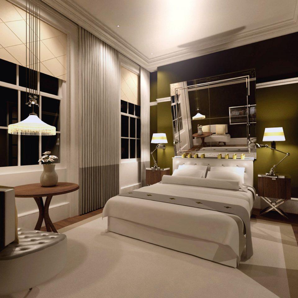 Bedroom Hip living room property home condominium