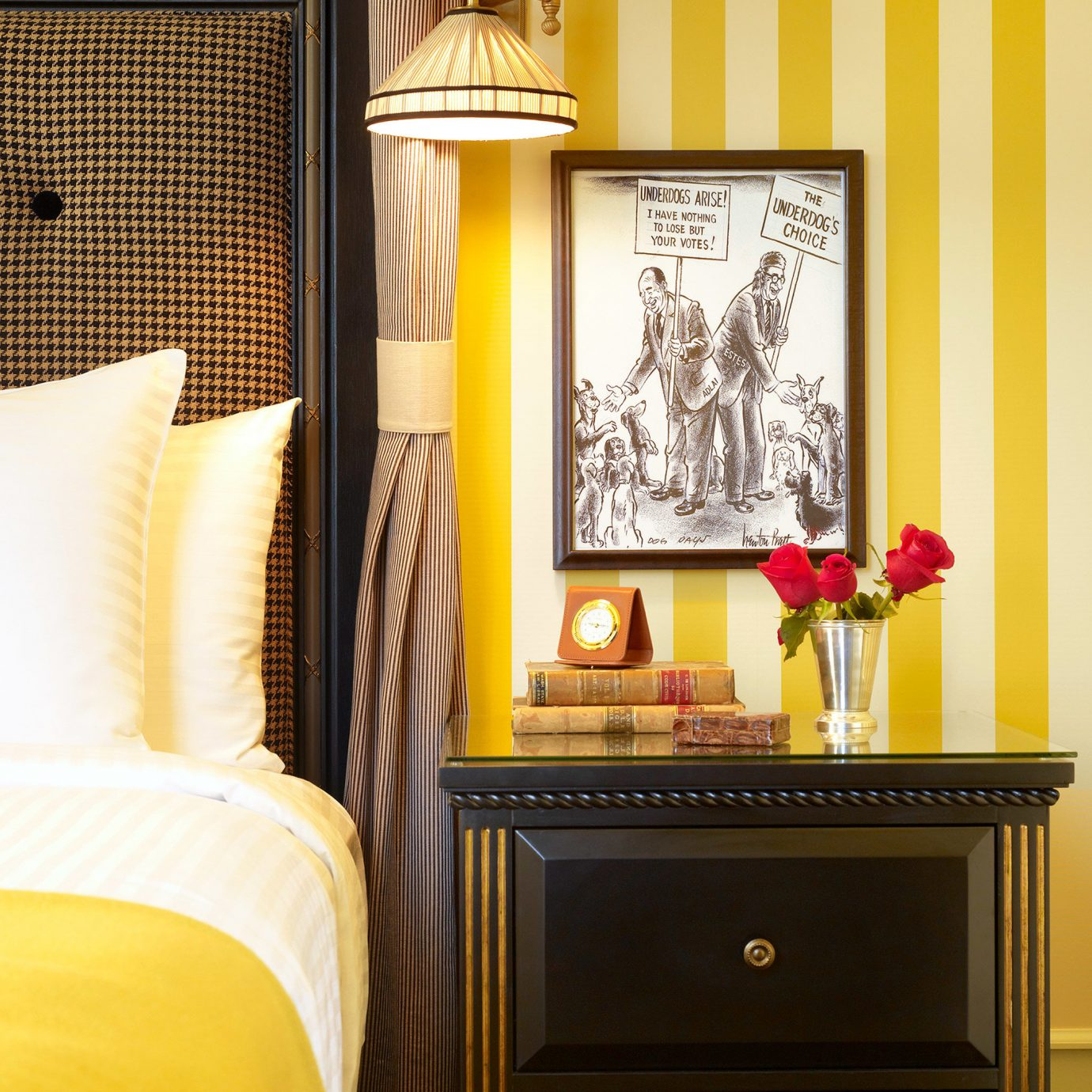 Bedroom Hip Historic Modern yellow living room home