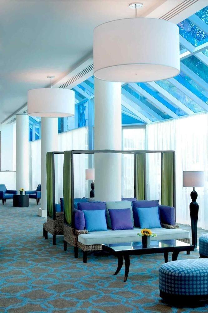 Hip Lounge Luxury Modern color blue chair living room lighting condominium headquarters Bedroom