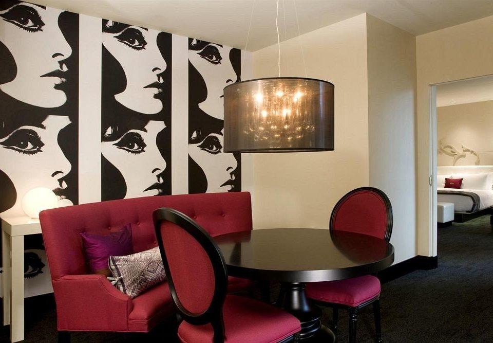 Hip Lounge Luxury Modern chair living room red lighting modern art Bedroom