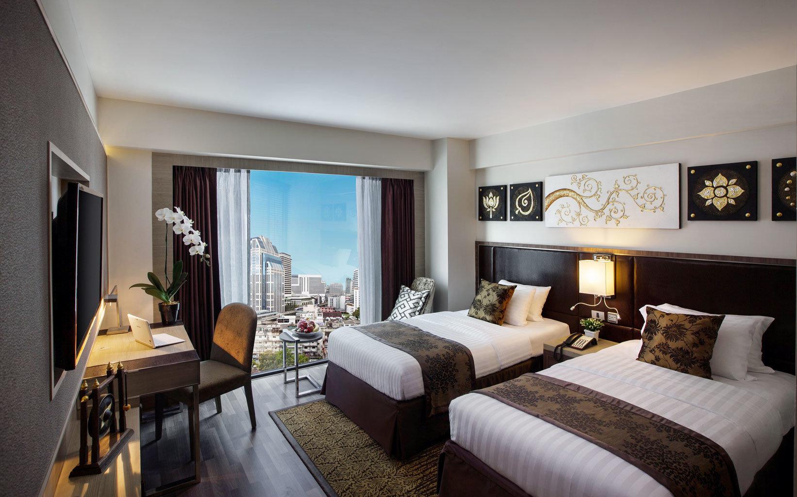 Bedroom Hip Luxury Modern Scenic views Suite sofa property home living room condominium Villa Resort flat