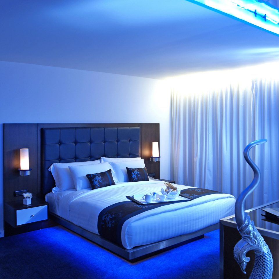 Bedroom Hip Luxury Modern Suite blue swimming pool