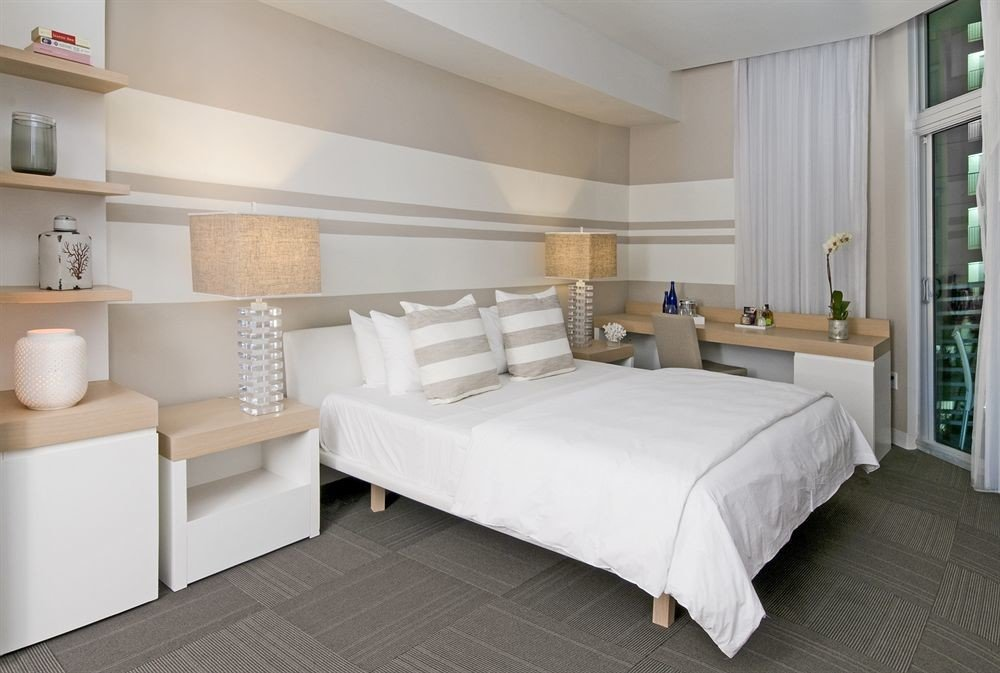 Bedroom Hip Luxury Modern Suite property bed frame condominium living room bed sheet