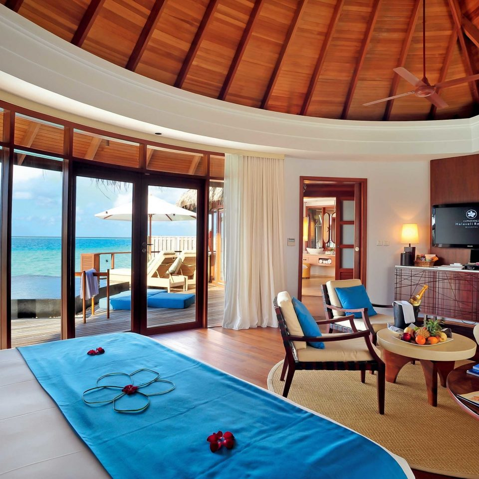 Bedroom Hip Luxury Modern Suite property Resort Villa swimming pool cottage living room