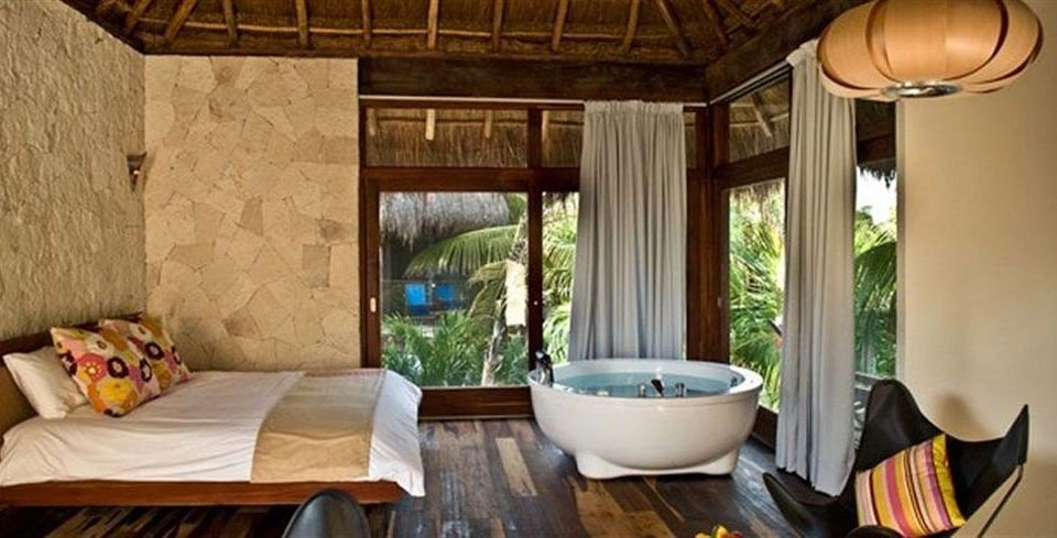 Bedroom Hip Luxury Modern Suite Tropical property cottage living room home Villa farmhouse porch Resort outdoor structure