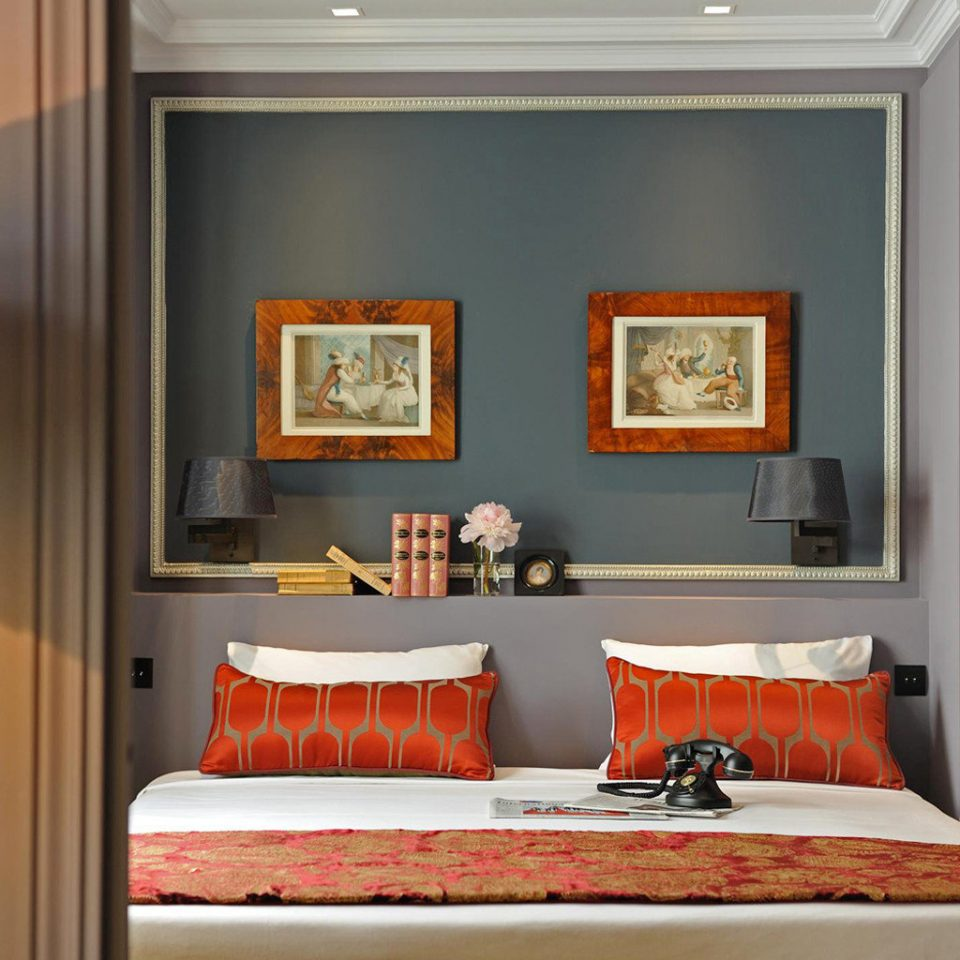Bedroom Hip Luxury Modern Suite Living Room Home Orange