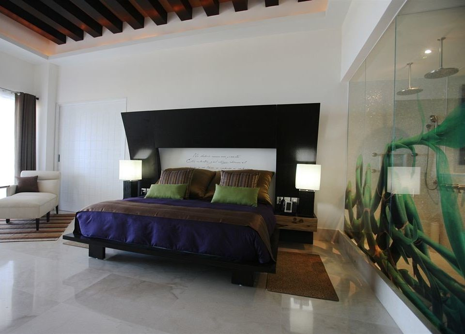 Bedroom Hip Luxury Modern Suite property living room home condominium Villa loft