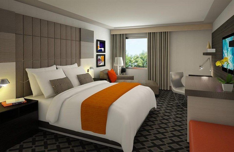 Bedroom Hip Luxury Modern Suite sofa property condominium living room home cottage bed sheet flat