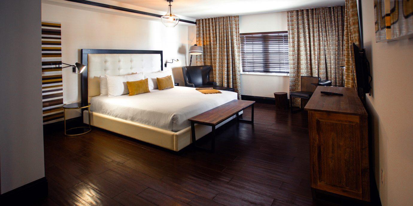 Bedroom Hip Luxury Modern Suite property house home hardwood living room condominium cottage loft wood flooring