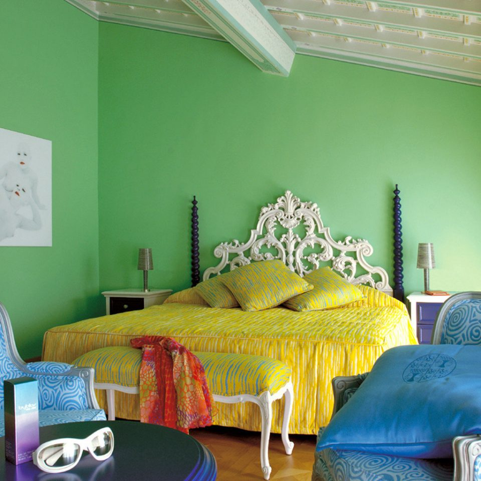 Bedroom Hip Luxury Resort green property living room home cottage colorful colored